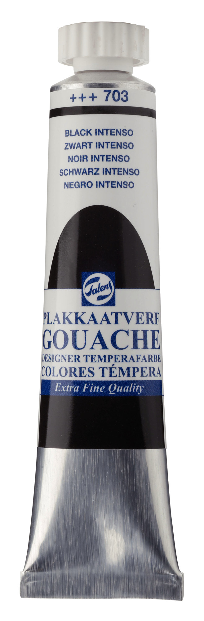 Gouache Extra Fine Quality Tube 20 ml Black Intenso 703