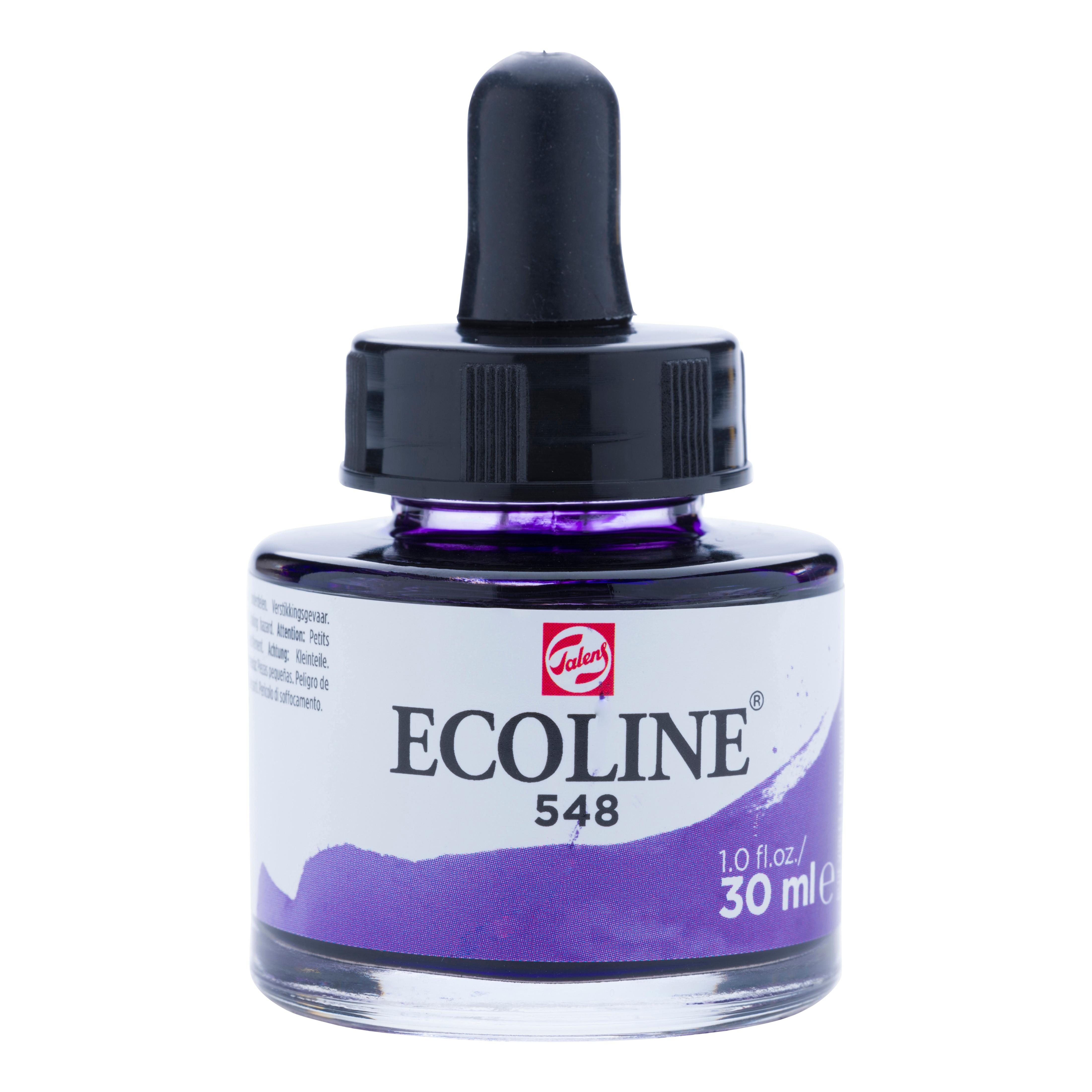 Ecoline Liquid Watercolour Bottle 30 ml Blue Violet  548