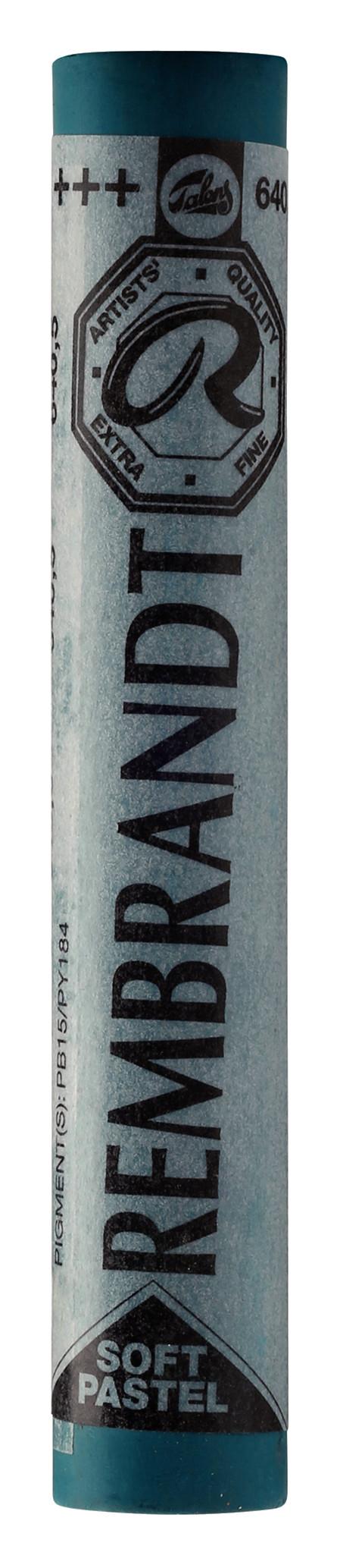 Rembrandt Soft Pastel Round Full Stick Bluish Green(5) (640.5)