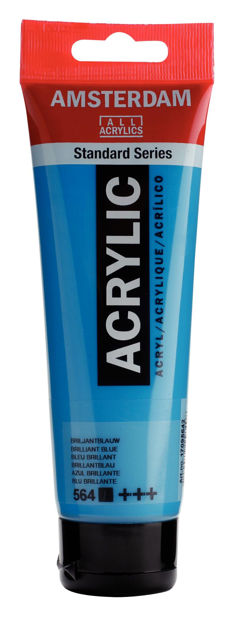 Amsterdam Standard Series Acrylic Tube 120 ml Brilliant blue 564