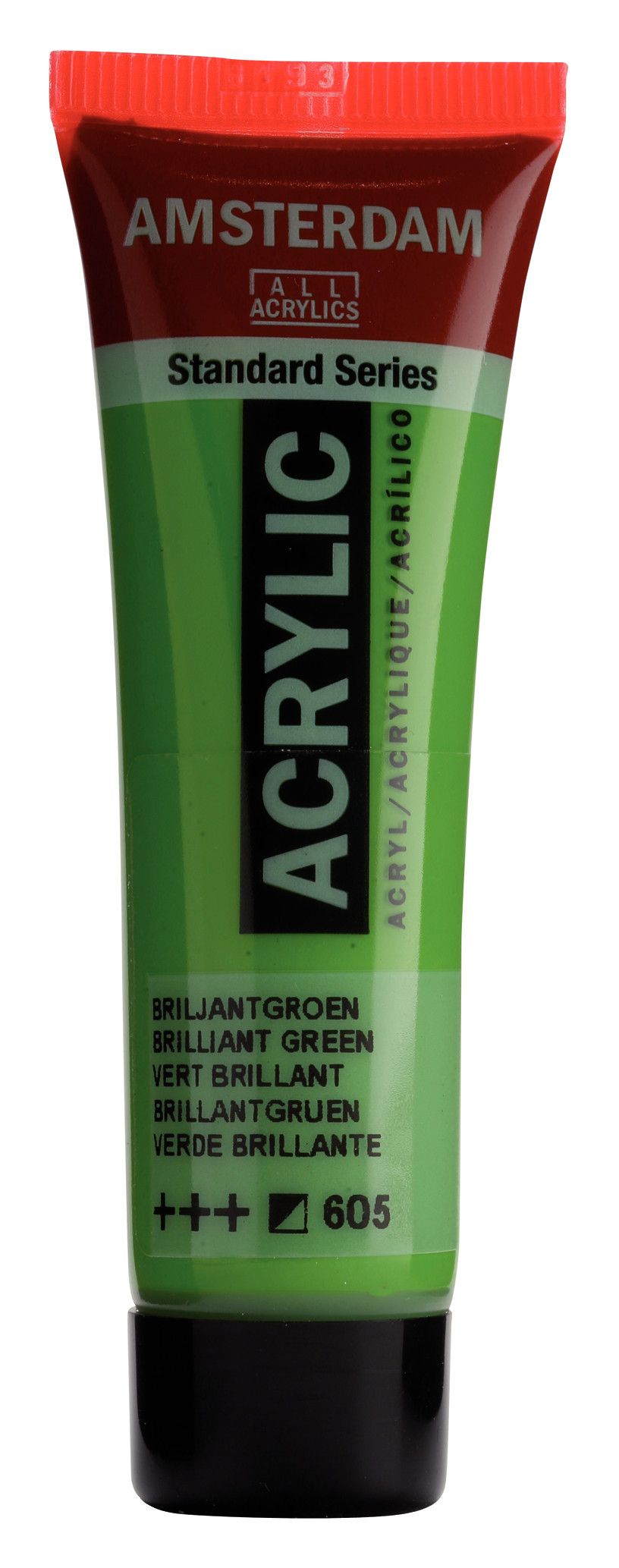 Amsterdam Standard Series Acrylic Tube 20 ml Brilliant Green 605