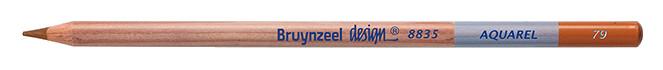 Bruynzeel Design Aquarel Burnt Ochre Pencils
