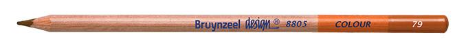 Bruynzeel Design Colour Burnt Ochre Pencils