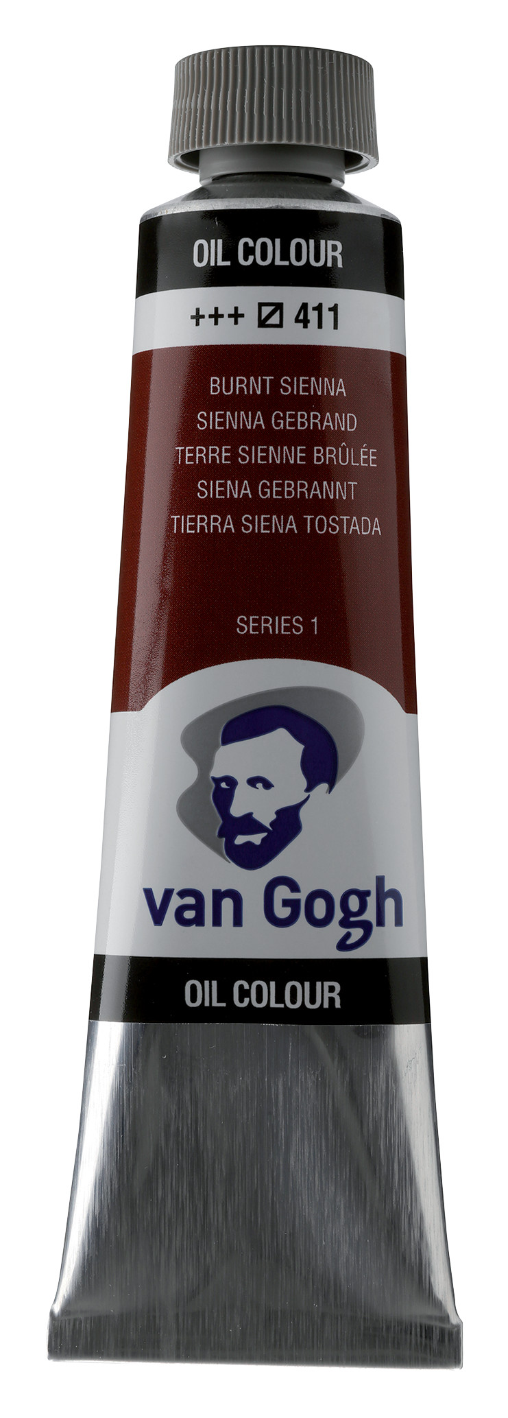 Van Gogh Oil Colour Tube 40 ml Burnt Sienna 411