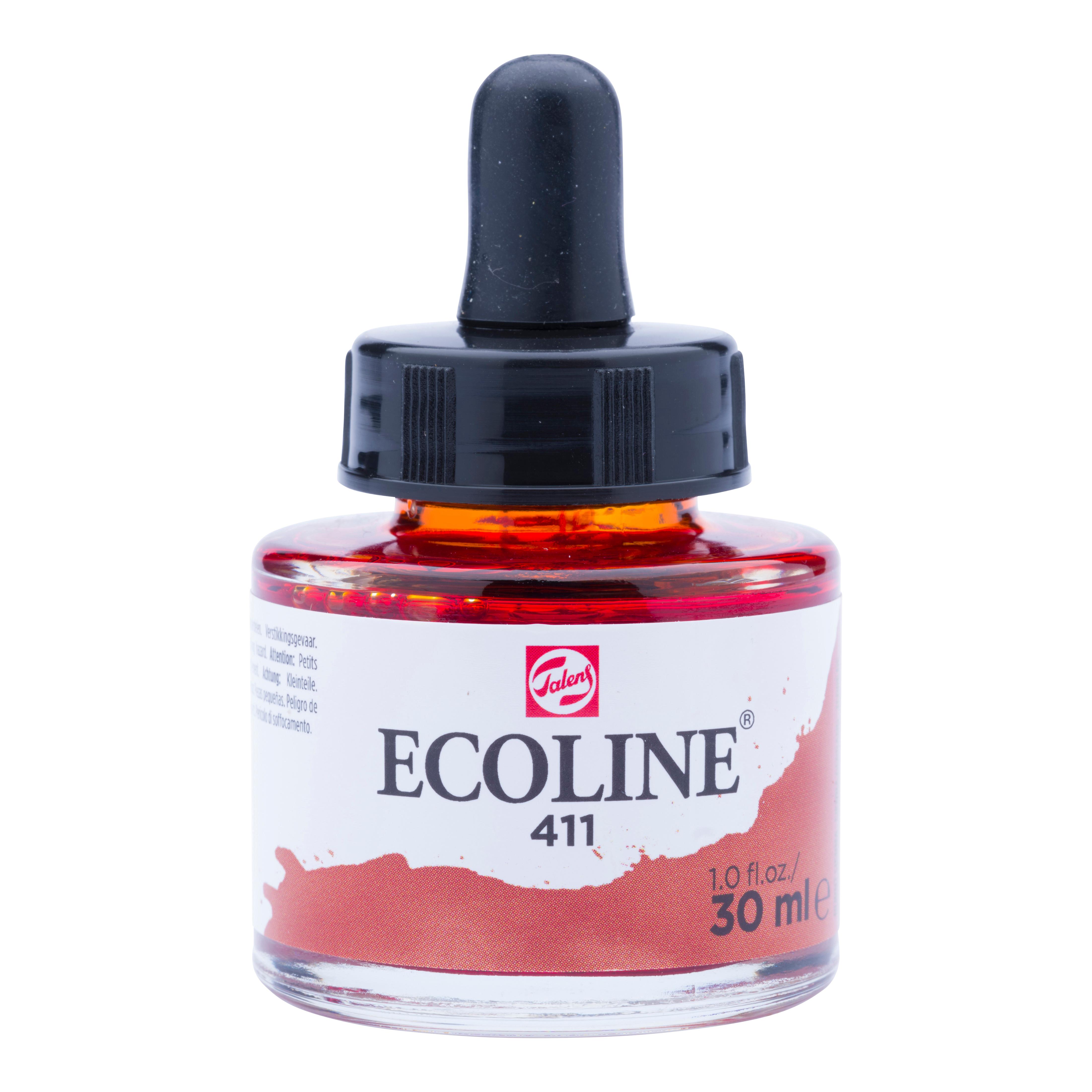 Ecoline Liquid Watercolour Bottle 30 ml Burnt Sienna  411