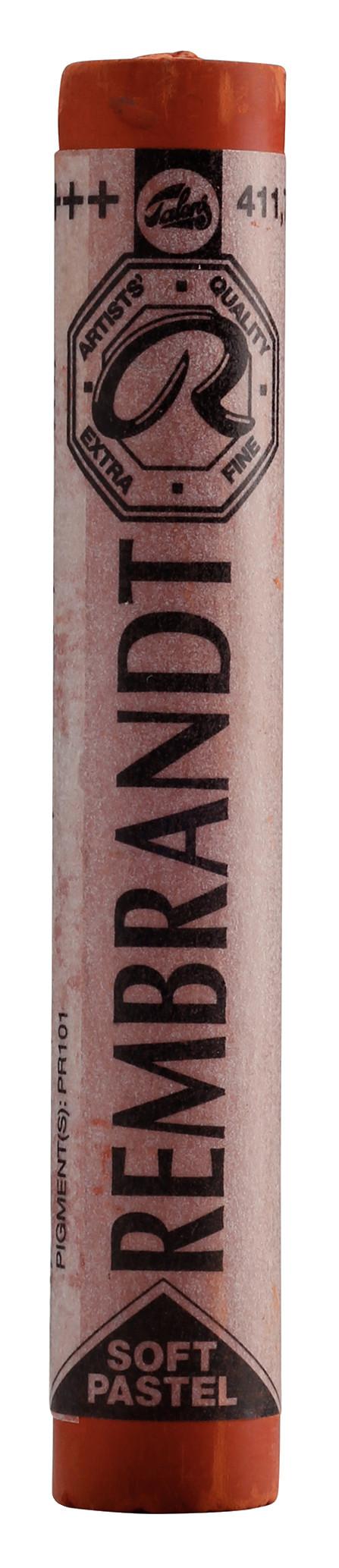 Rembrandt Soft Pastel Round Full Stick Burnt Sienna(7) (411.7)