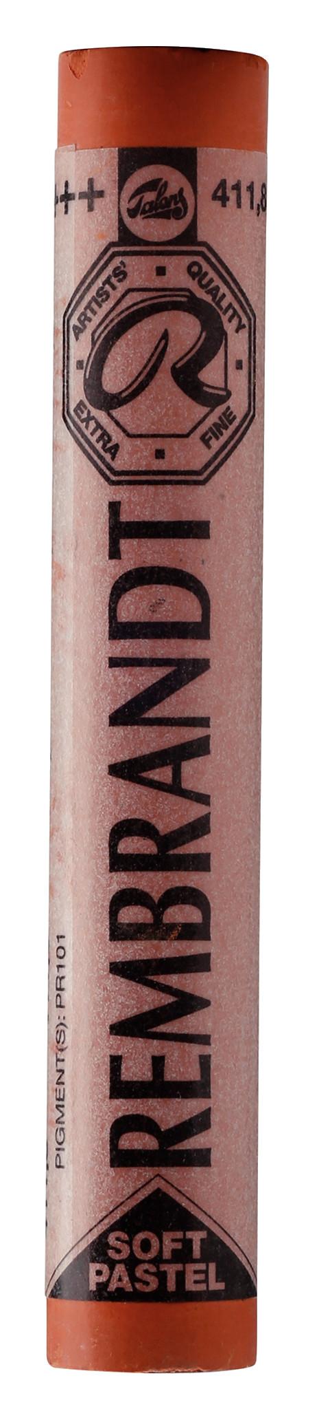 Rembrandt Soft Pastel Round Full Stick Burnt Sienna(8) (411.8)