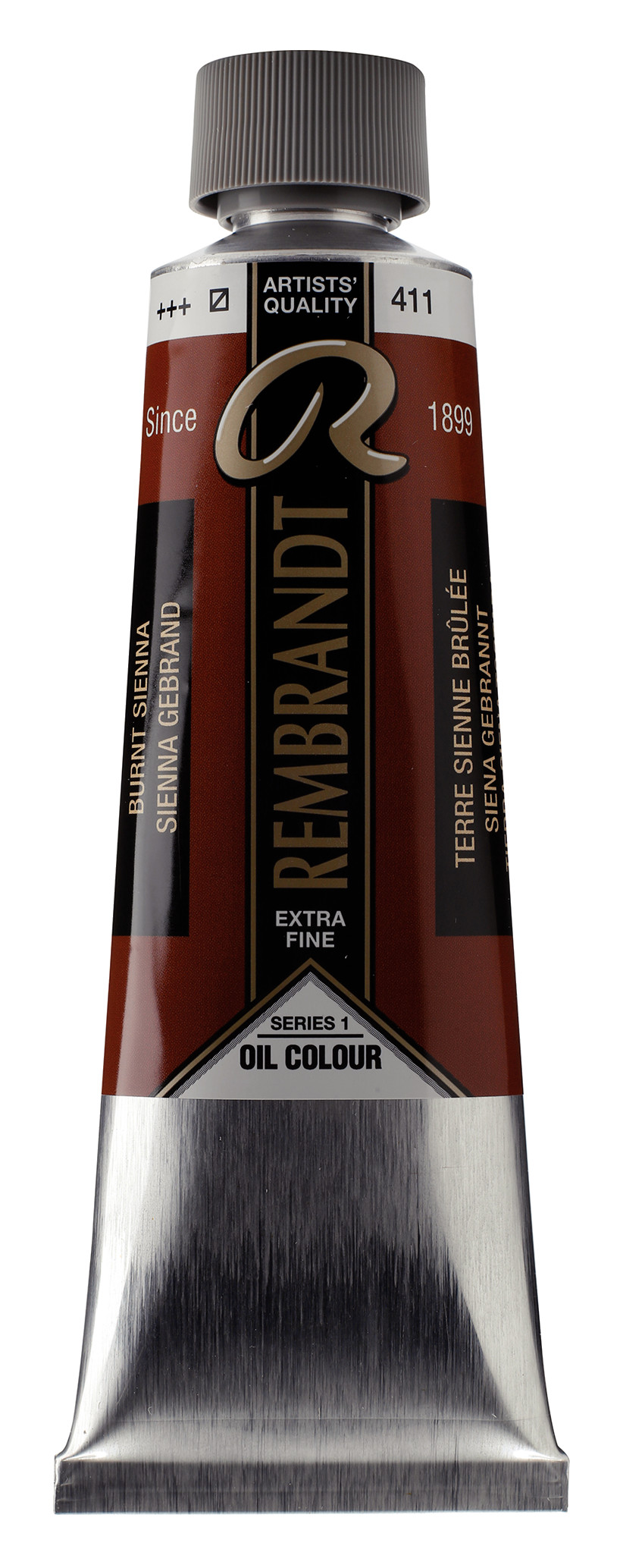 Rembrandt Oil colour Paint Burnt Sienna (411) 150ml Tube