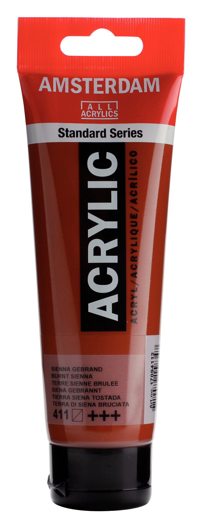 Amsterdam Standard Series Acrylic Tube 120 ml Burnt sienna 411