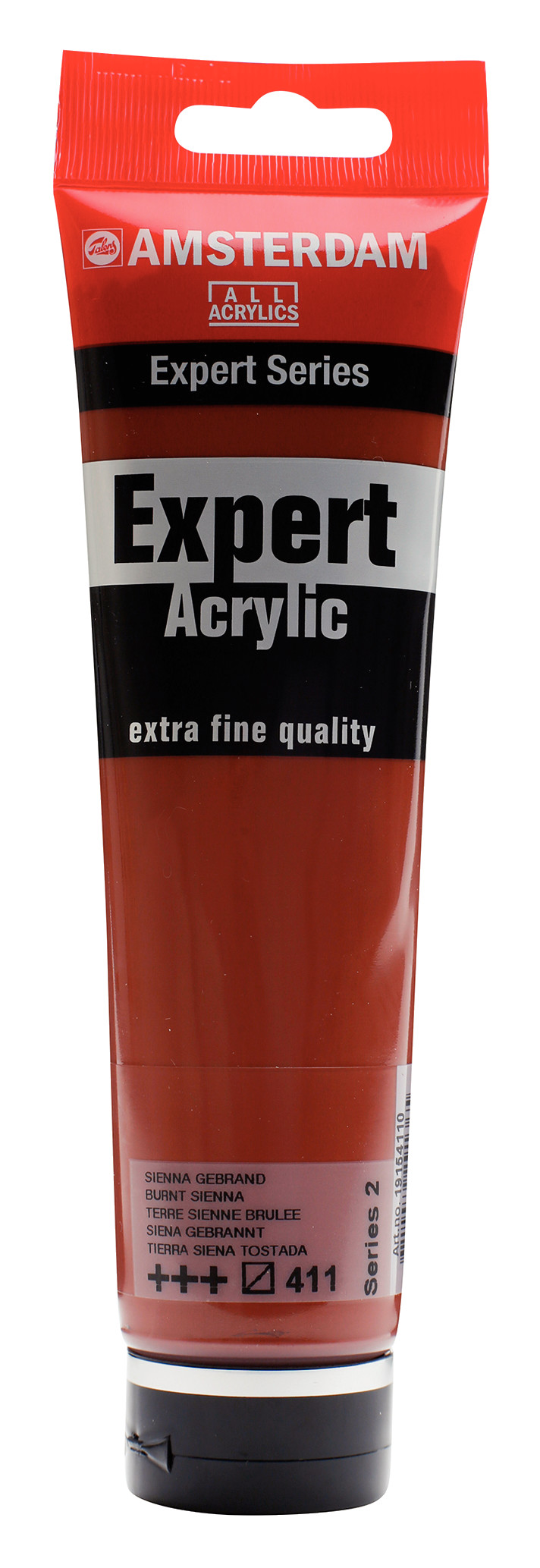 Amsterdam Expert Series Acrylic Tube 150 ml Burnt Sienna 411