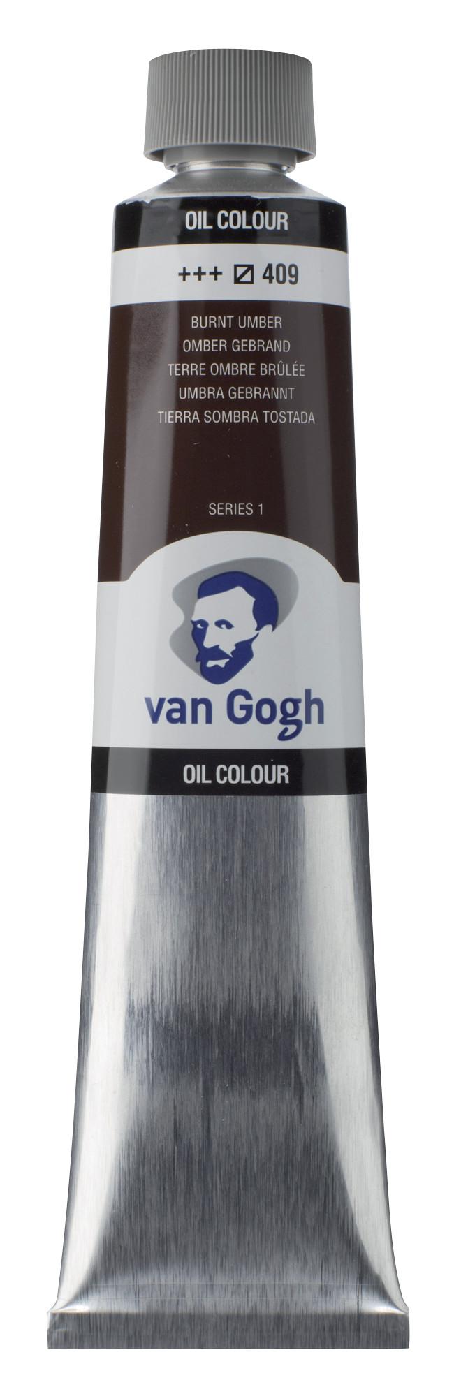 Van Gogh Oil Colour Tube 200 ml Burnt Umber 409