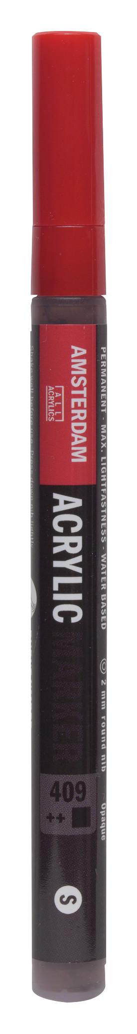 Amsterdam Acrylic Marker 2 mm Burnt Umber 409