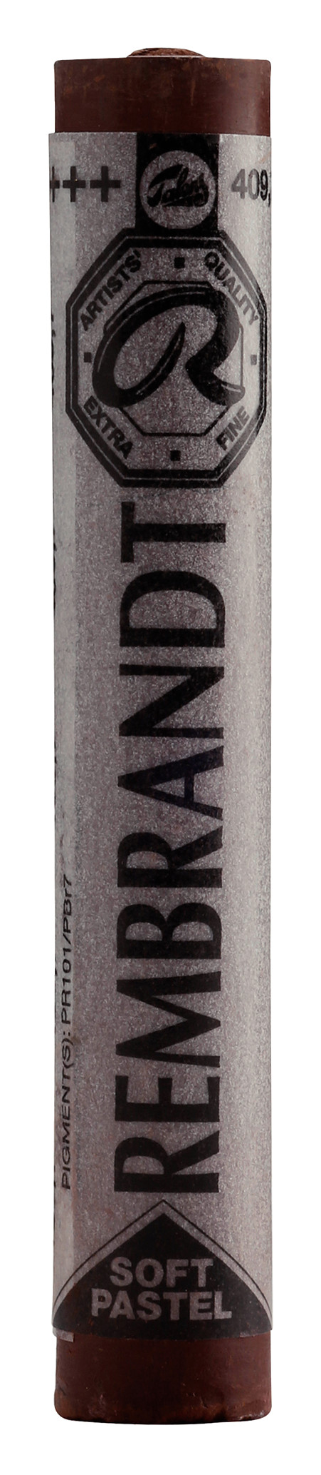 Rembrandt Soft Pastel Round Full Stick Burnt Umber(7) (409.7)