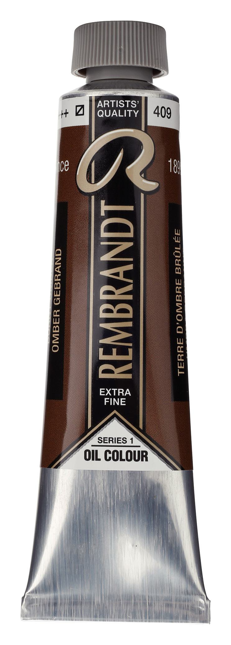 Rembrandt Oil colour Paint Burnt Umber (409) 40ml Tube