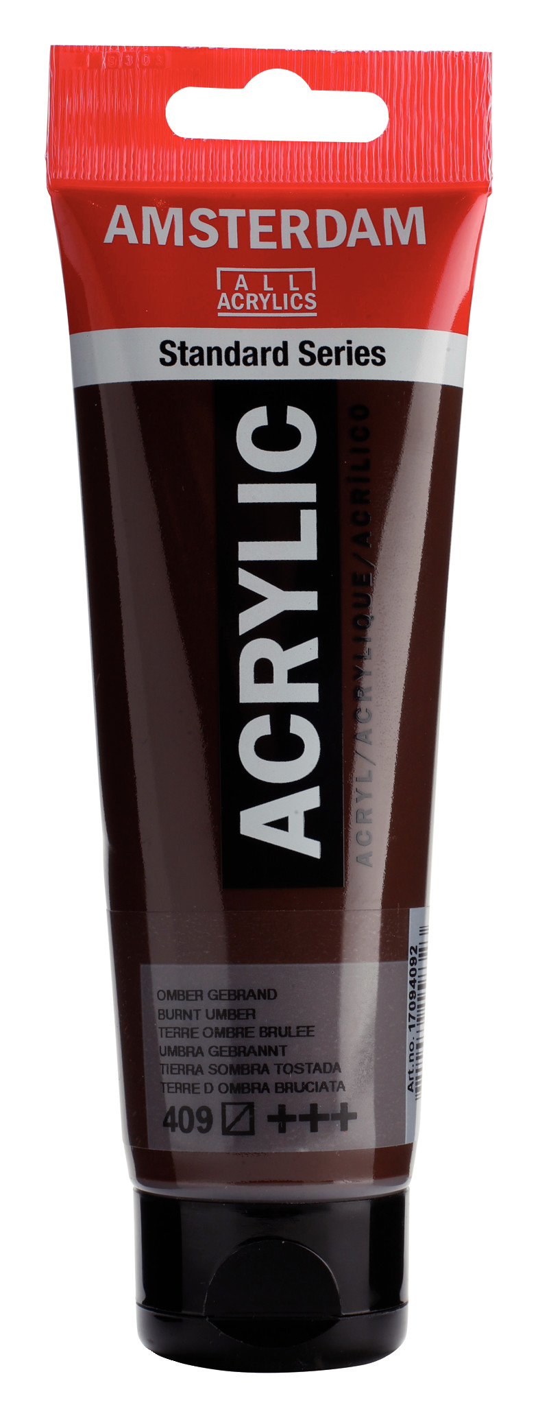 Amsterdam Standard Series Acrylic Tube 120 ml Burnt umber 409