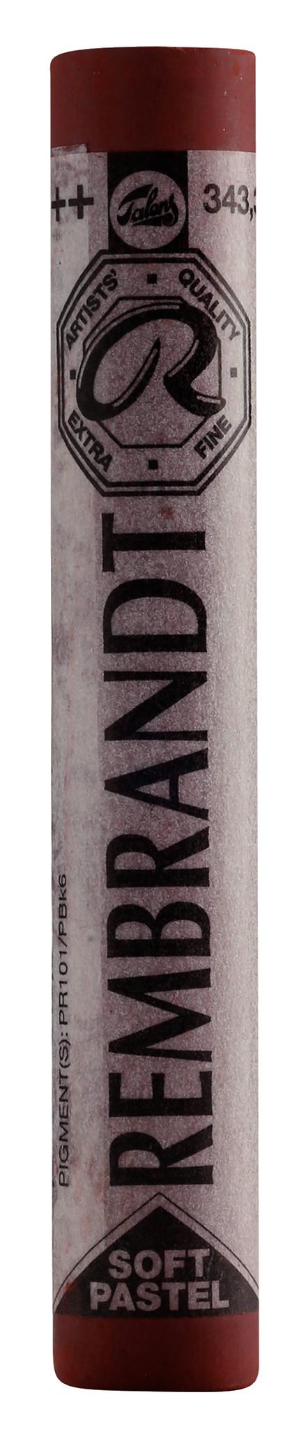 Rembrandt Soft Pastel Round Full Stick Caput Mortuum Violet(3) (343.3)