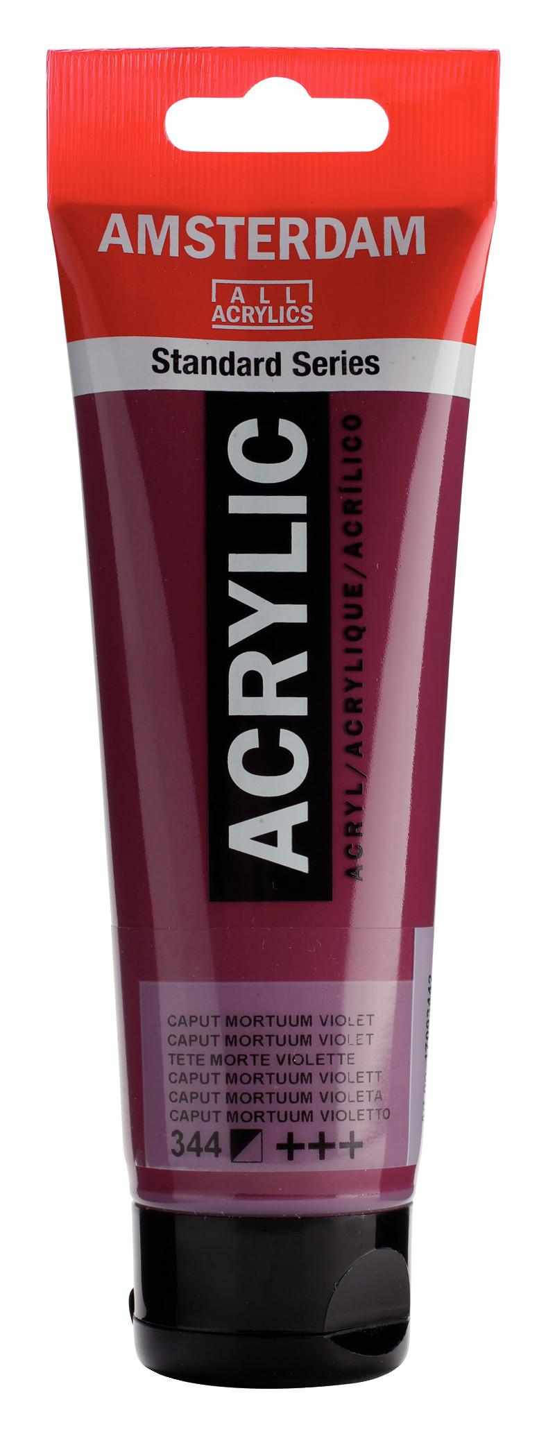 Amsterdam Standard Series Acrylic Tube 120 ml Caput mortuum violet 344