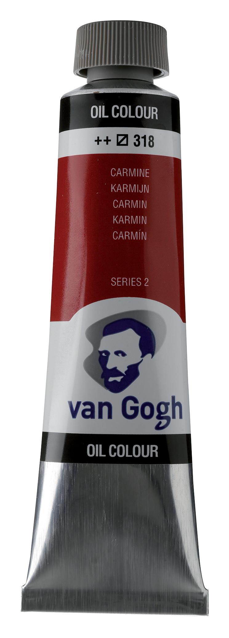 Van Gogh Oil Colour Tube 40 ml Carmine 318