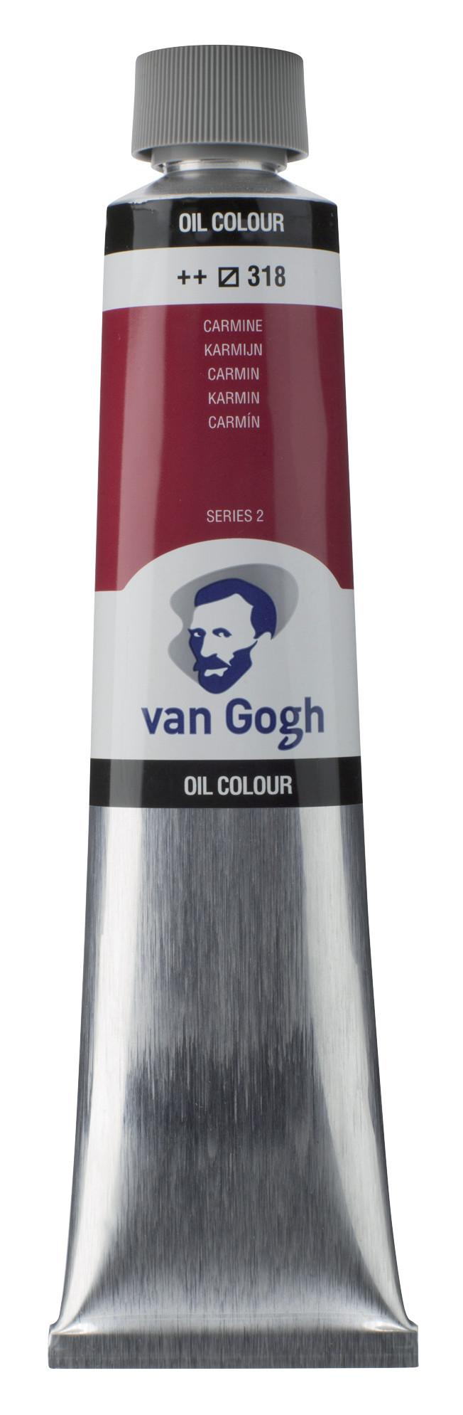 Van Gogh Oil Colour Tube 200 ml Carmine 318
