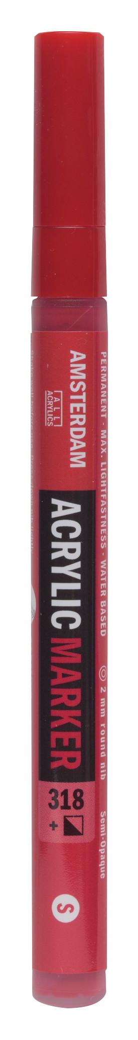 Amsterdam Acrylic Marker 2 mm Carmine 318