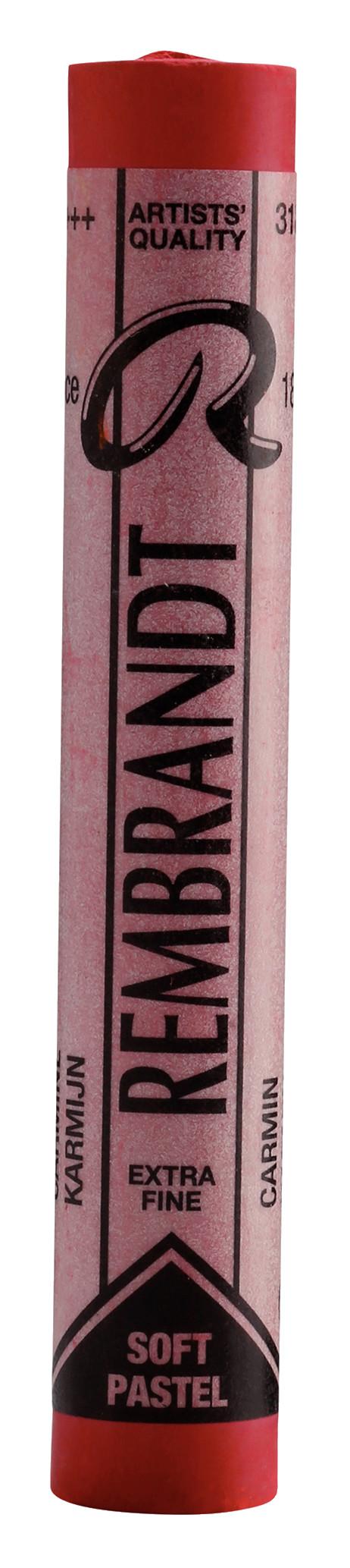 Rembrandt Soft Pastel Round Full Stick Carmine(5) (318.5)