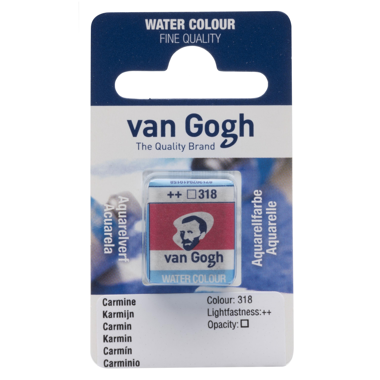 Van Gogh Watercolour Pan Carmine 318