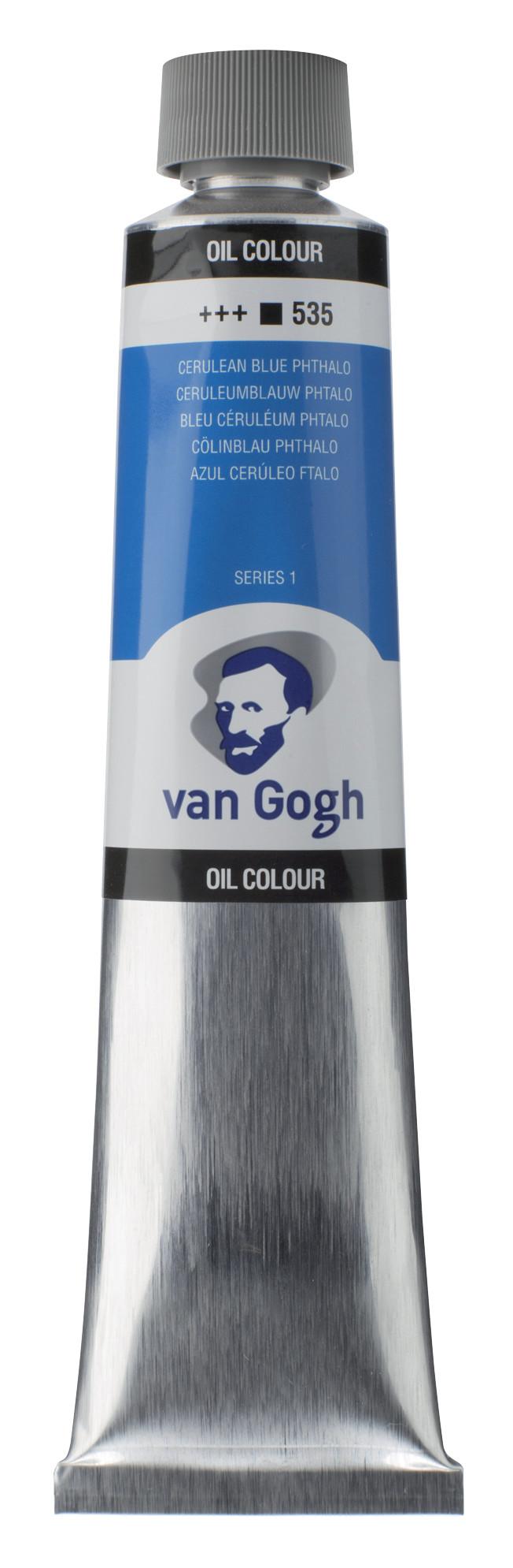 Van Gogh Oil Colour Tube 200 ml Cerulean Blue (Phthalo) 535