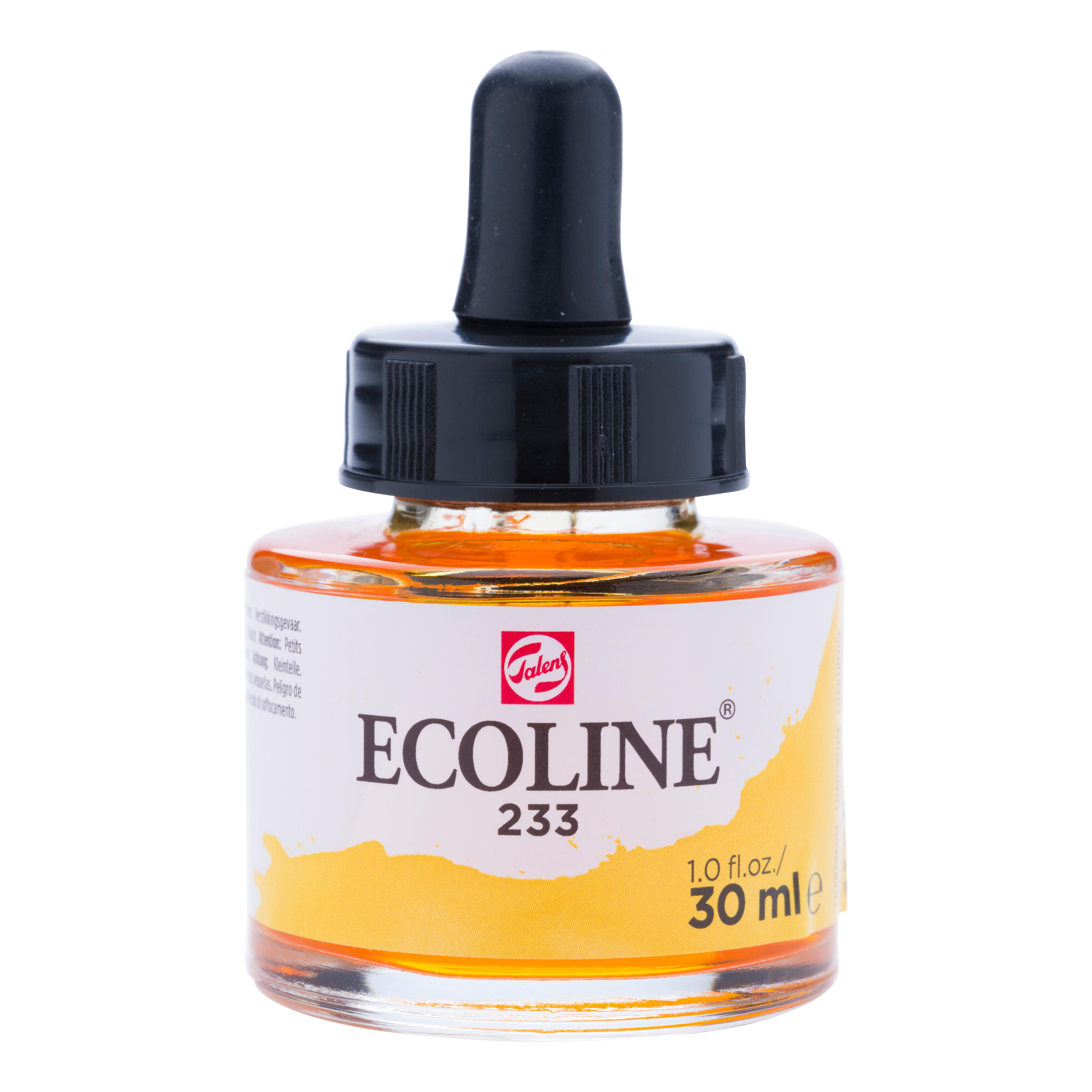 Ecoline Liquid Watercolour Bottle 30 ml Chartreuse  233