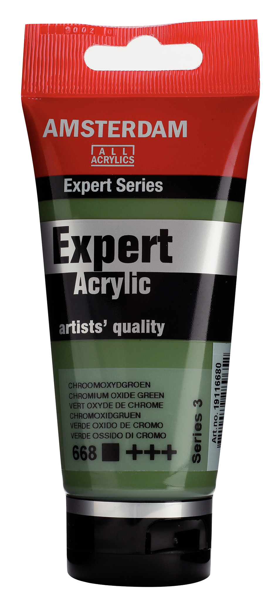 Amsterdam Expert Series Acrylic Tube 75 ml Chromium Oxide Green  668