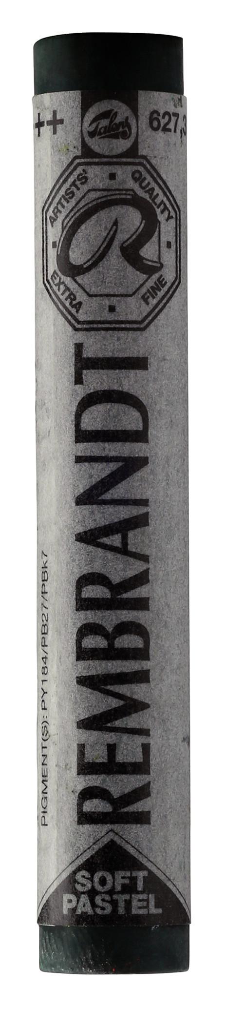 Rembrandt Soft Pastel Round Full Stick Cinnabar Green Deep(3) (627.3)