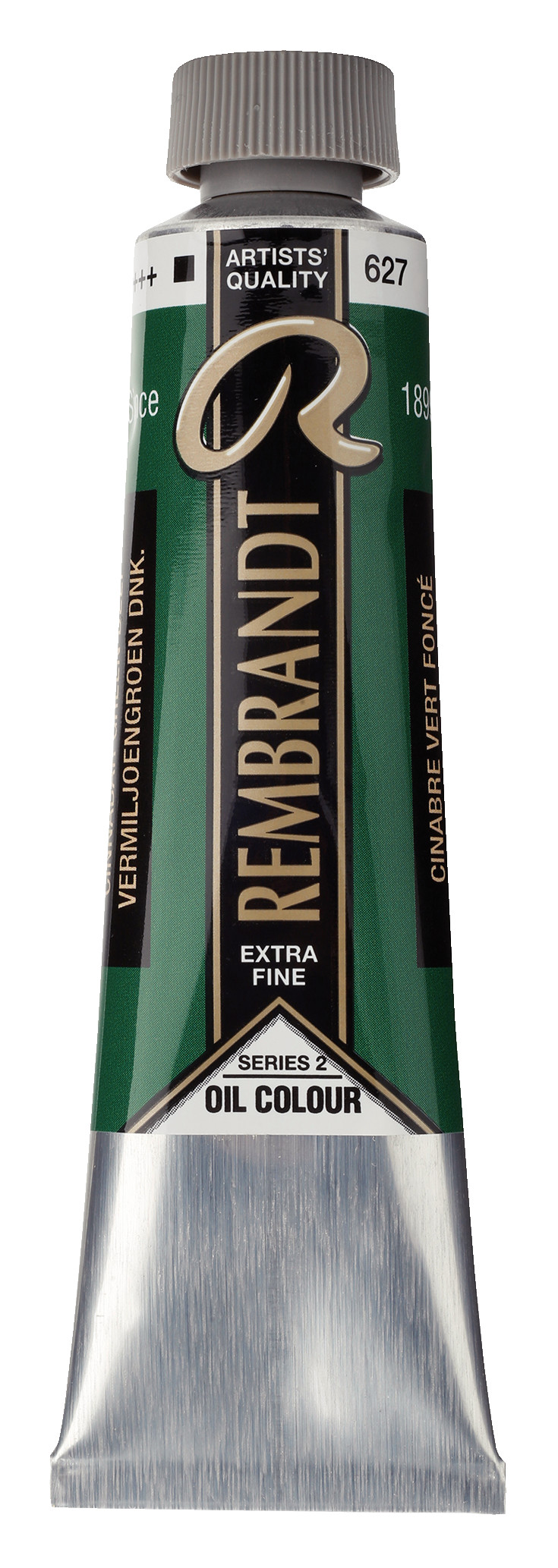 Rembrandt Oil colour Paint Cinnabar Green Deep (627) 40ml Tube