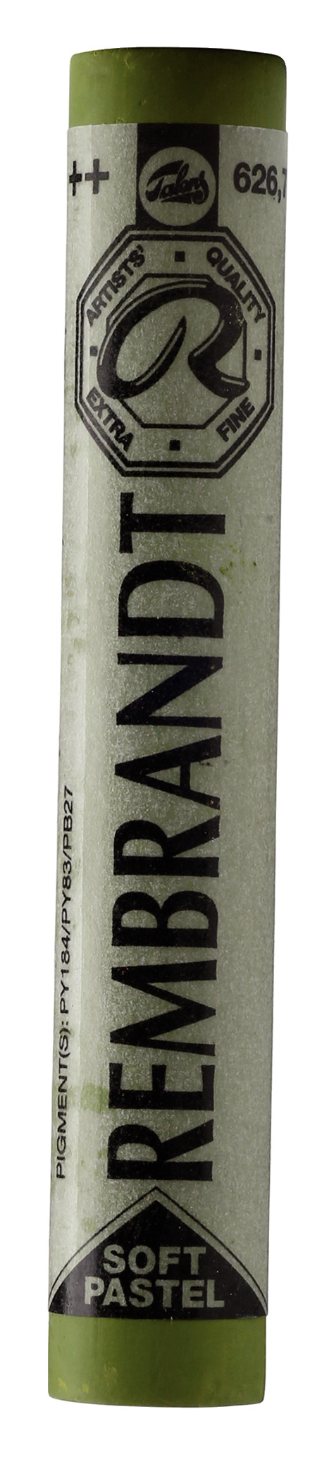 Rembrandt Soft Pastel Round Full Stick Cinnabar Green Light(7) (626.7)