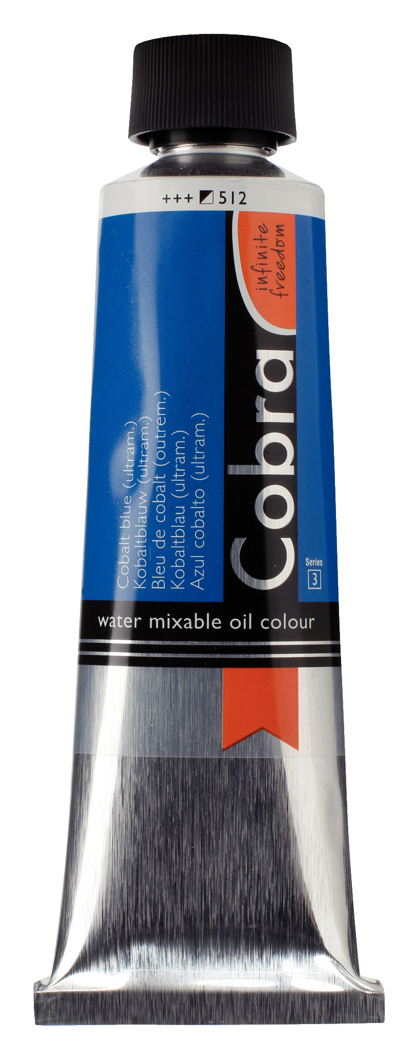 Cobra Artist Water Mixable Oil Colour Tube 150 ml Cobalt blue (ultramine) 512