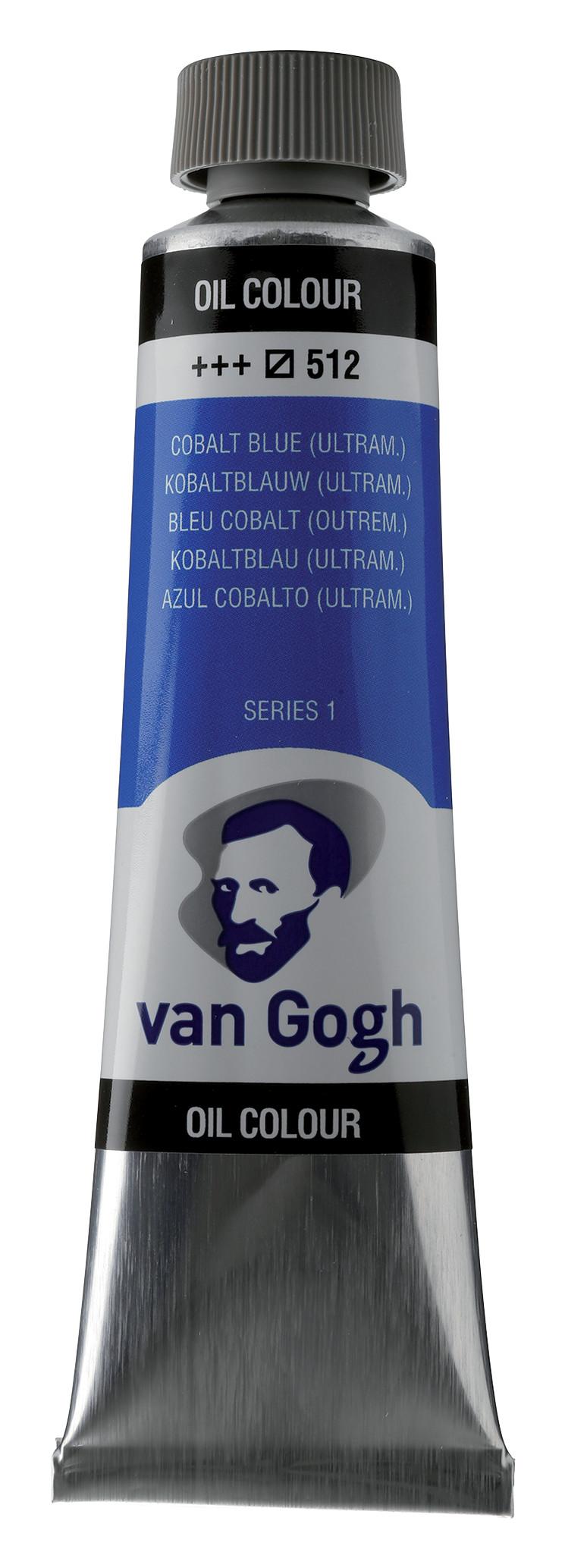 Van Gogh Oil Colour Tube 40 ml Cobalt Blue Ultramarine 512