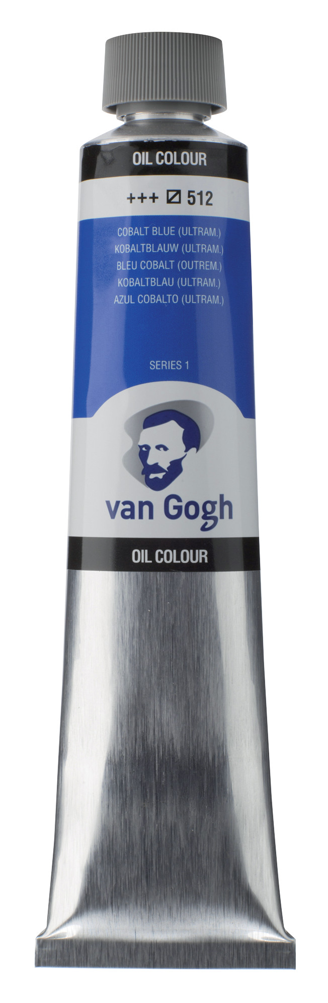 Van Gogh Oil Colour Tube 200 ml Cobalt Blue Ultramarine 512