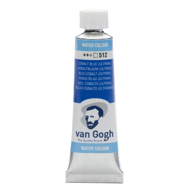 Van Gogh Watercolour Tube 10 ml Cobalt Blue Ultramarine 512