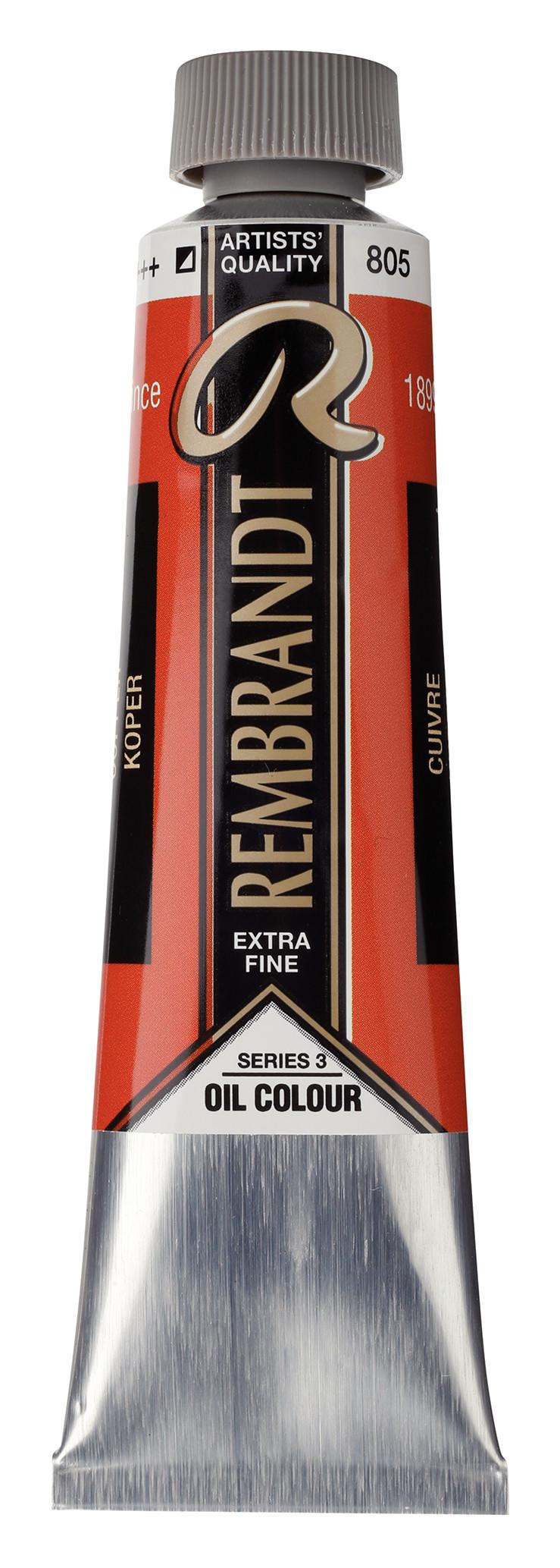 Rembrandt Oil colour Paint Copper (805) 40ml Tube