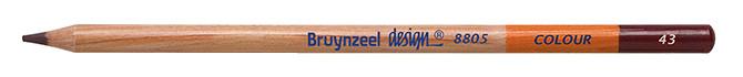Bruynzeel Design Colour Dark Brown Pencils