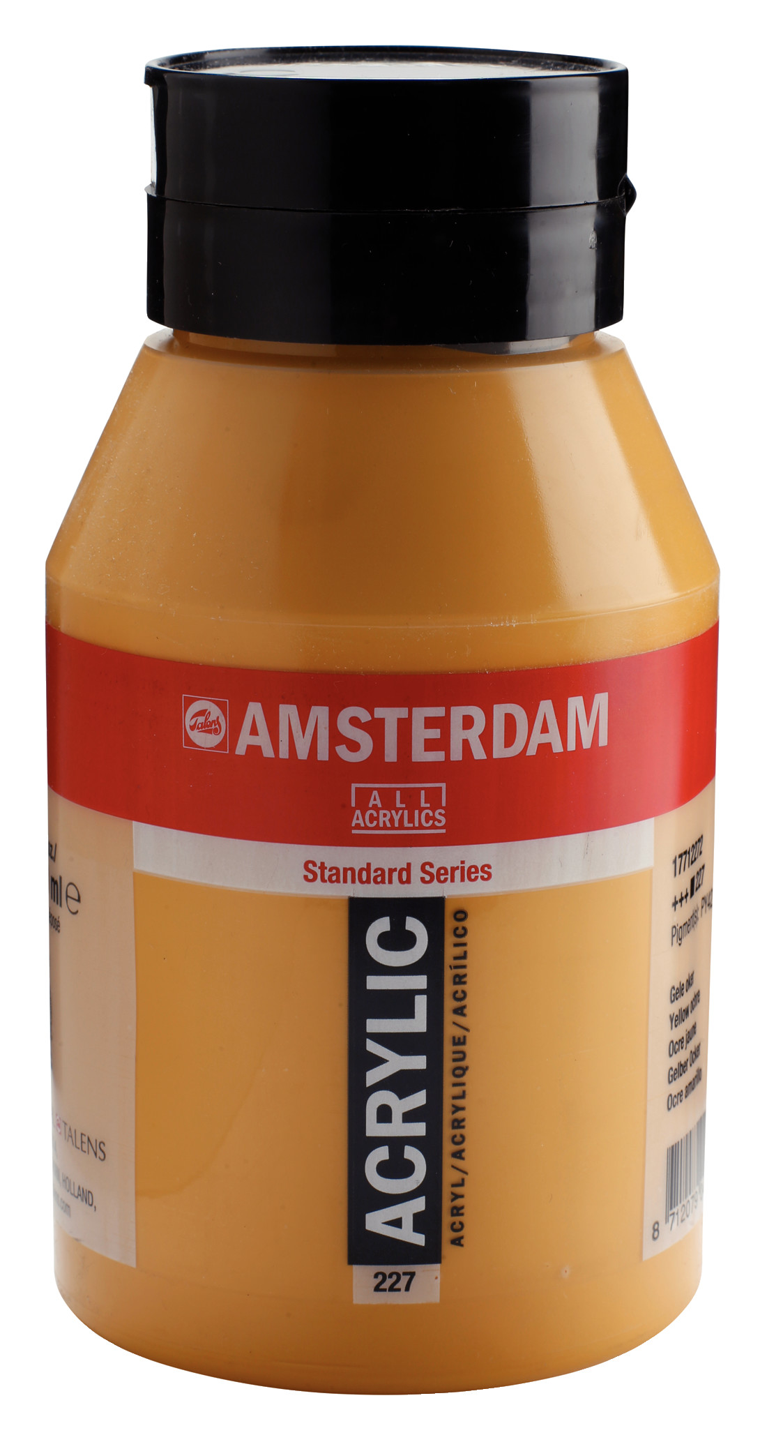 Amsterdam Standard Series Acrylic Jar 1000 ml Yellow ochre 227