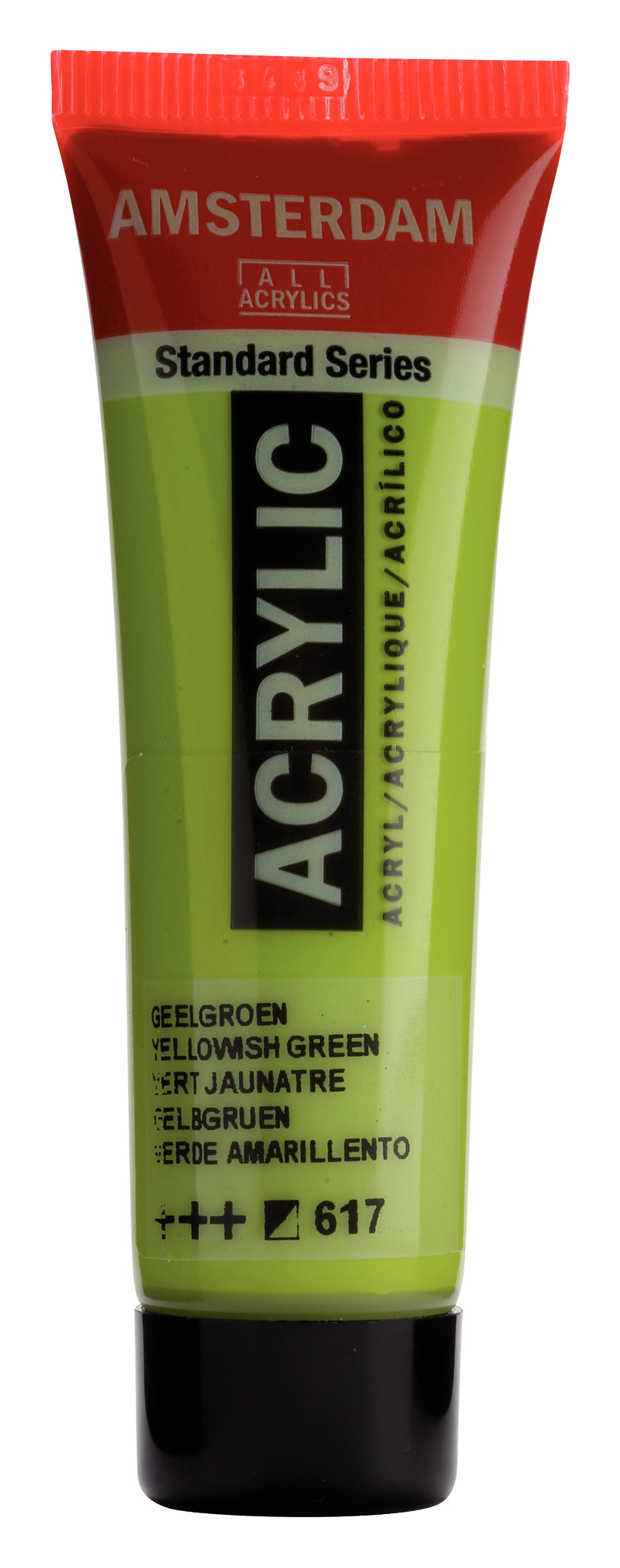 Amsterdam Standard Series Acrylic Tube 20 ml Yellowish green 617