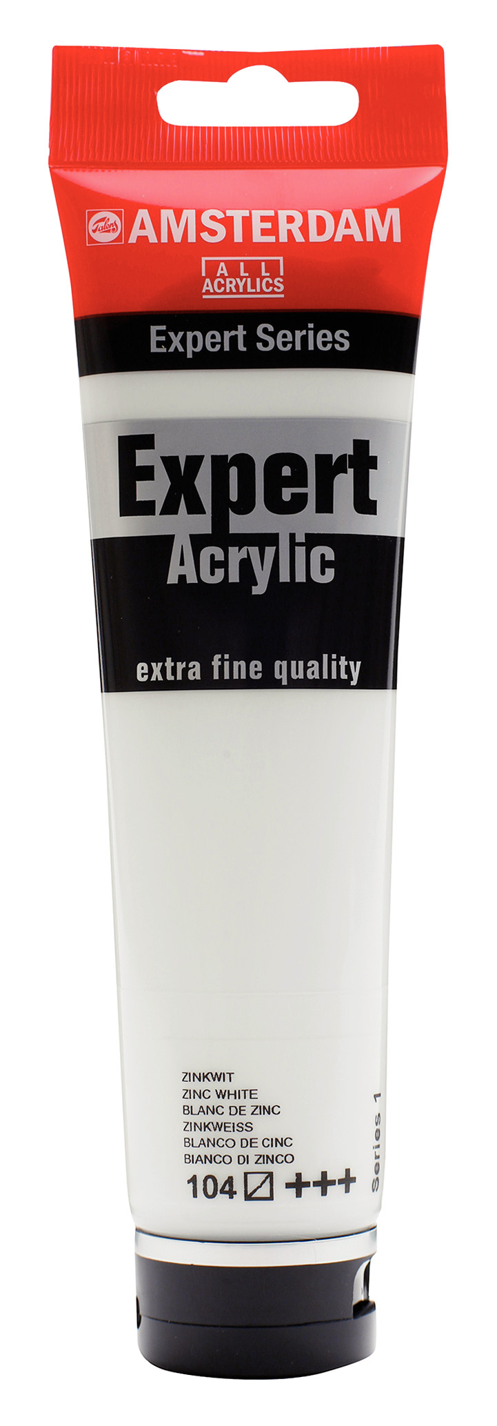 Amsterdam Expert Series Acrylic Tube 150 ml Zinc White 104