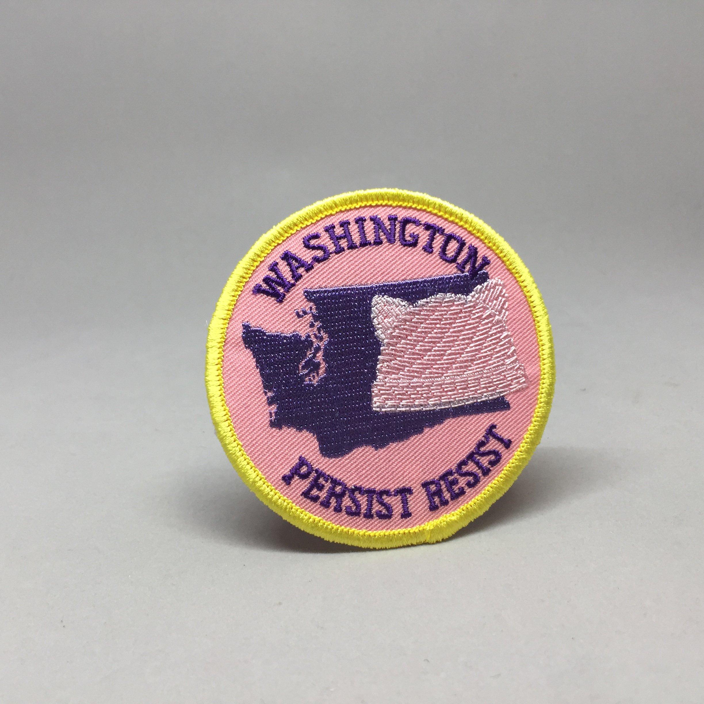 WASHINGTON PERSIST RESIST Patch