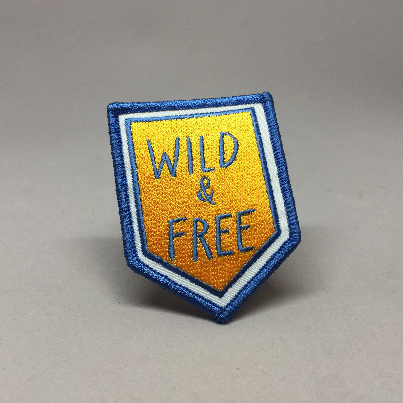 Wild & Free Camp Patch