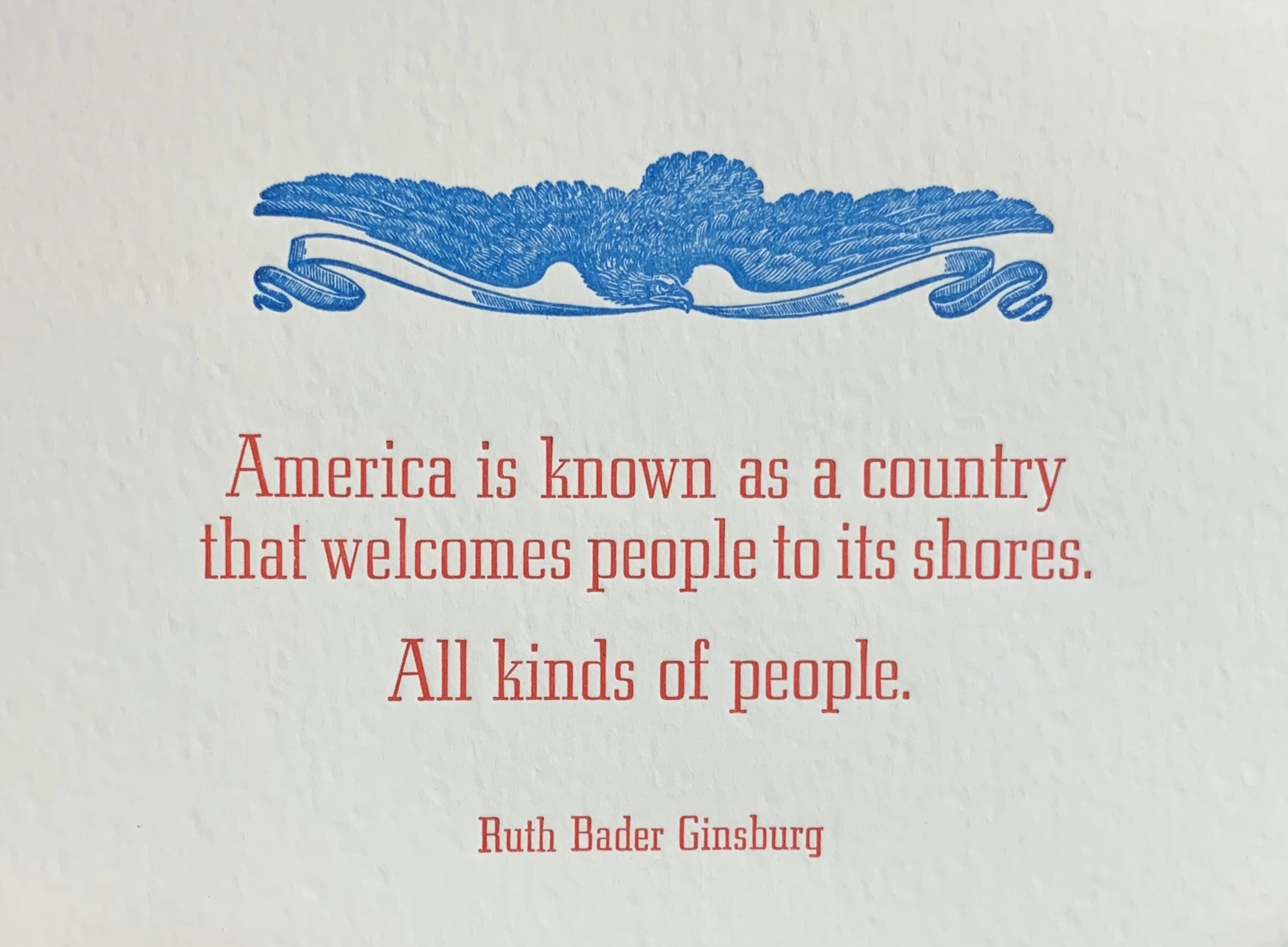 Ruth Bader Ginsburg America Quote
