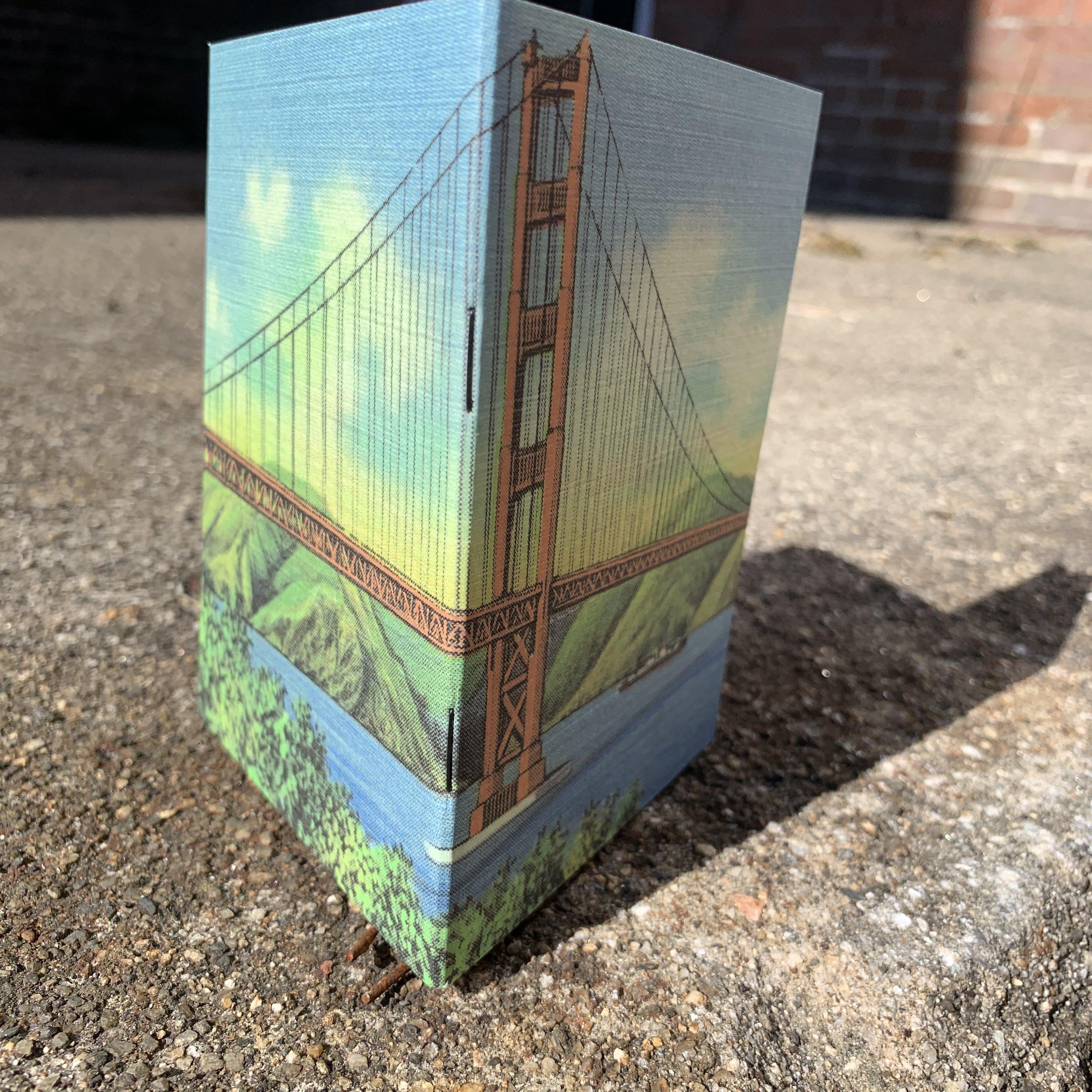 Golden Gate - Vintage Pocket Notebook
