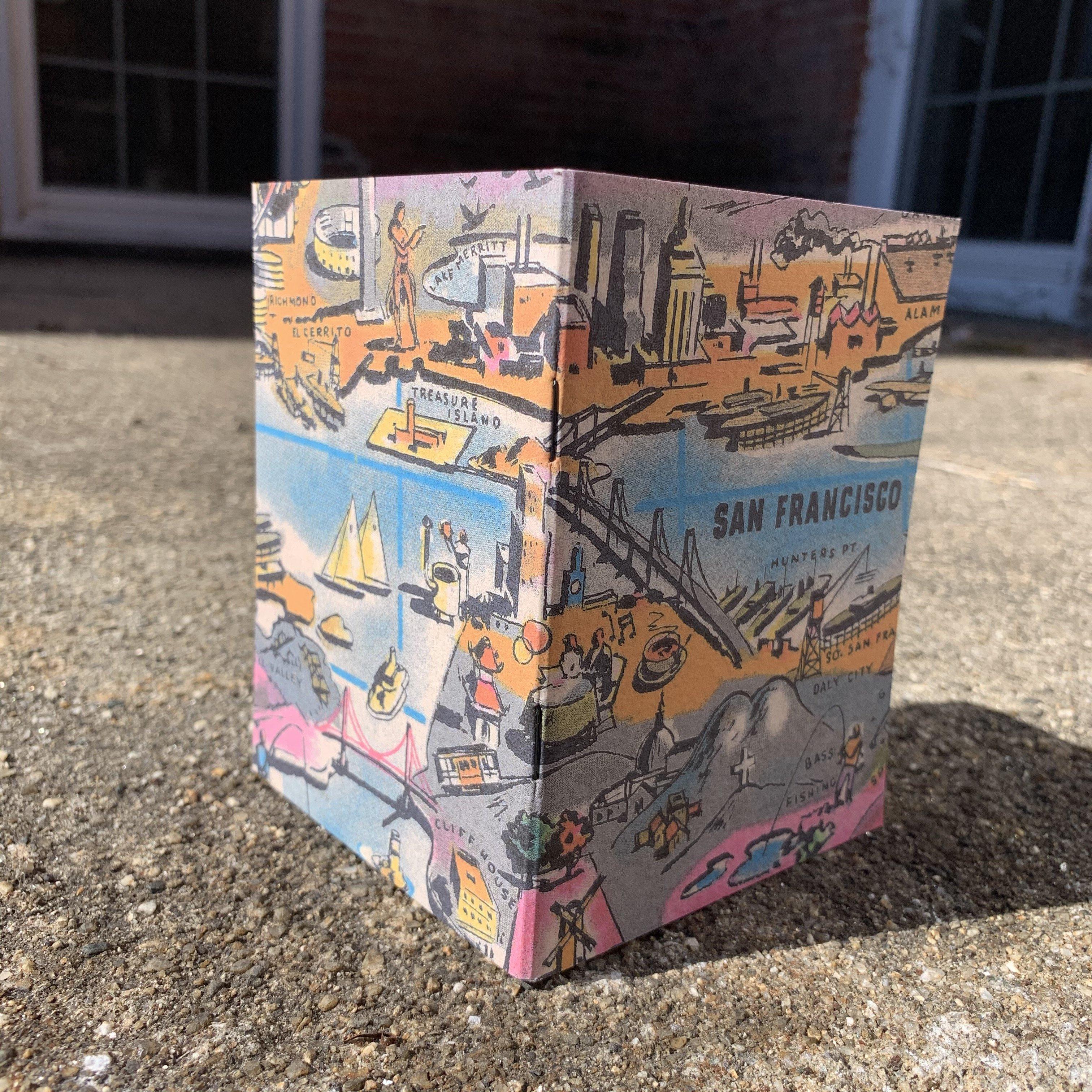 San Francisco Bay - Vintage Pocket Notebook