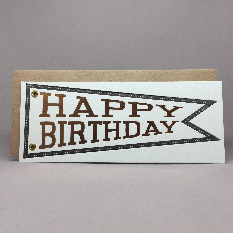Happy Birthday - Pennant
