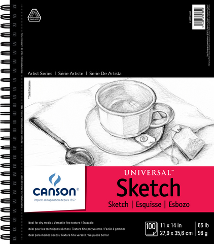 ARTIST SERIES UNIVERSAL SKETCH MICRO PERF 11X14 100 SHEETS