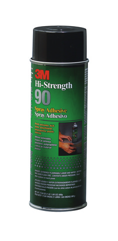 HIGH STRENGTH 90 SPRAY ADHESIVE 17.6OZ