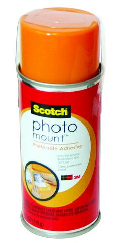 PHOTO MOUNT SPRAY ADHESIVE W/PLASTIC HANGTAG 4.23OZ